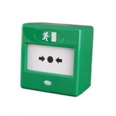 Pavojaus mygtukas CQR FP3/GR/DP (žalias)