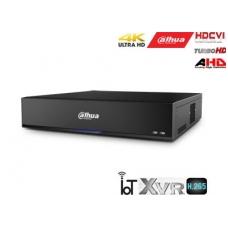 Pentabrid 4K įrašymo įreng.16kam. HDCVI/AHD/TVI/CVBS/IP, 4K 7fps