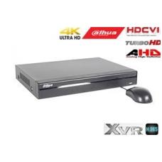 Pentabrid 4K įrašymo įrenginys 16kam. HDCVI/AHD/TVI/CVBS/IP, HDC
