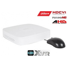 Pentabrid  įrašymo įreng. 4kam. HDCVI/AHD/TVI/CVBS/IP 2MP 15fps