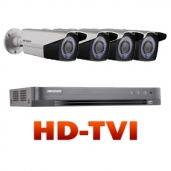 HD-Turbo vaizdo stebėjimo komplektai