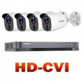 HD-CVI vaizdo stebėjimo komplektai