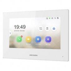 Vaizdo telefonspynės monitorius Hikvision DS-KH6320-WTE1 (baltas)