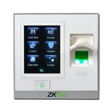 Vidaus pirštų skaitymo praėjimo kontrolė ZKTeco SF420 (Baltas)