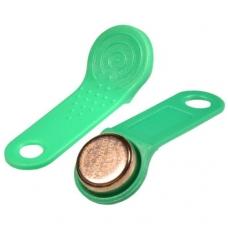Žalias dallas raktas iButton DS1990A-F5 su laikikliu