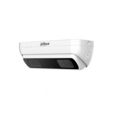 Žmonių skaičiavimo IP kamera 3MP, AI, 3D, H.265, 2 objektyvai po 2.8mm. 137°, 25fps